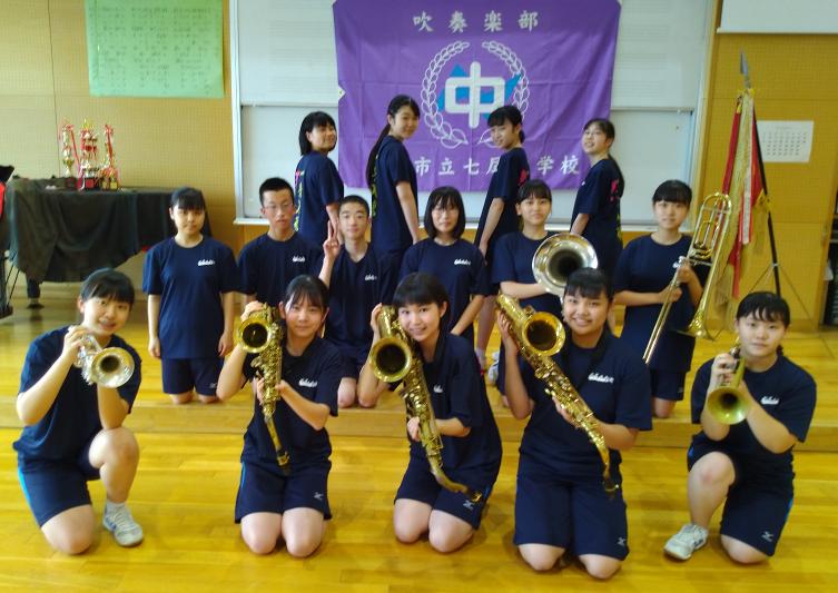 石川県N中学校吹奏楽部 様