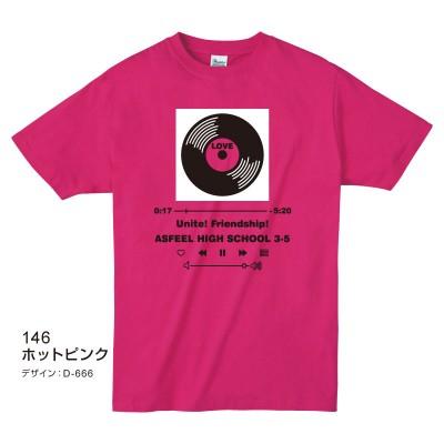 ライトTシャツ ホットピンク
