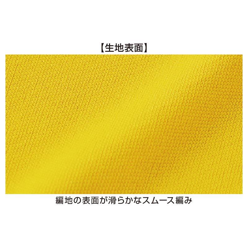 00350スムースドライTシャツ 生地表面