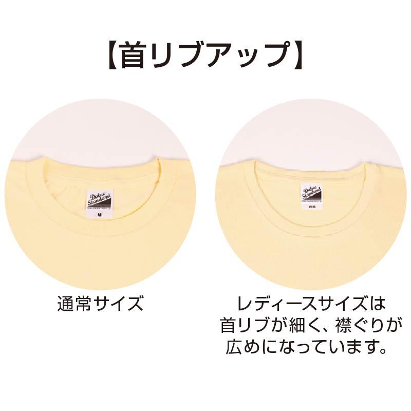 DM030スマートフィットTシャツ 首リブ